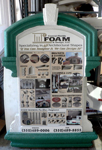 Foam-Display